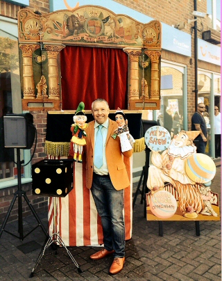 Punch and judy wedding